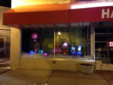 Ortonville Hardware's Entry in Business Lighting Contest