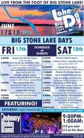 Lake Days Flyer 1