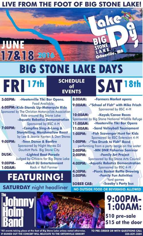 Lake Days Flyer 2