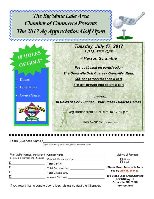 Ag Golf Flyer 2017